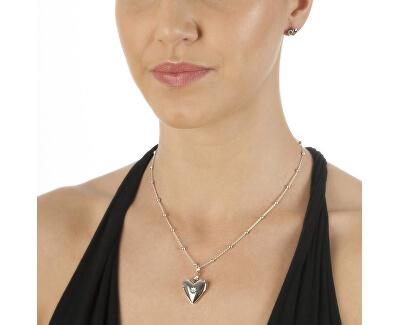 Zamilovaný náhrdelník s diamantom Just Add Love DP142 (retiazka, prívesok)