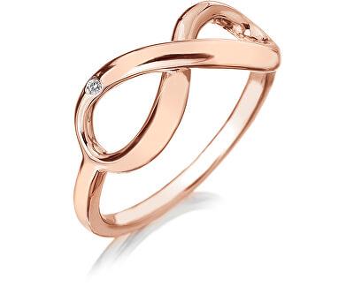 Hot Diamonds Bronzový prsten Infinity DR175