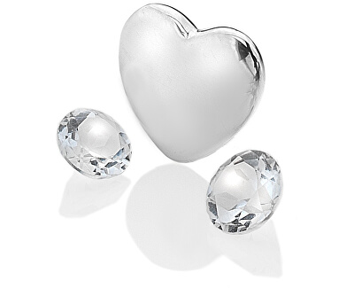Element srdce s čírymi Topaz Anais Apríl EX123