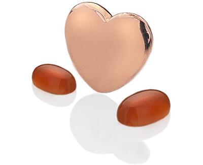 Element srdce s ónyxové Anais Júl EX138