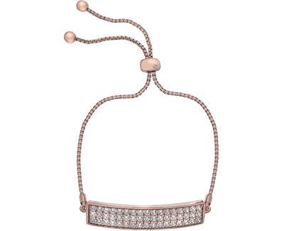 Hot Diamonds Brățară cu zirconii și diamantCrystal Triple Row Clear DL513