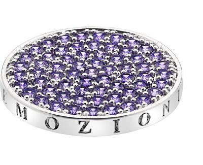 Hot Diamonds Přívěsek Emozioni Scintilla Violet Spirituality EC352_EC353<br /><strong>Průměr 33 mm</strong>