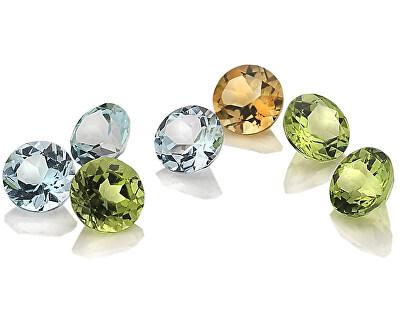 Elementy z topazů, peridotů a citrínu Hot Diamonds Anais AG006