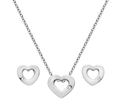 Sada stříbrných šperků Amulets SS136