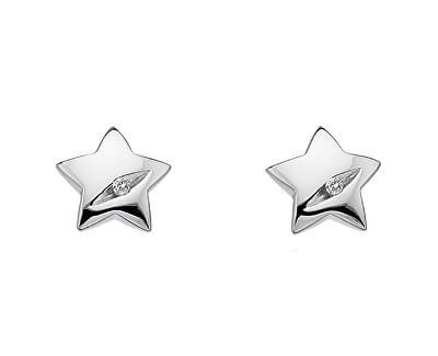 Hot Diamonds Stříbrné náušnice Hot Diamonds Shooting Stars DE323