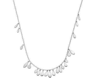 Stříbrný náhrdelník s diamantem Monsoon DN138