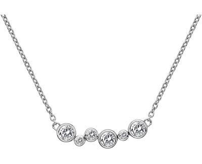 Stříbrný náhrdelník s diamantem Tender DN147