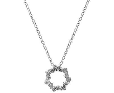 Stříbrný náhrdelník s diamantem Vine DP752