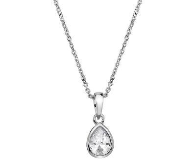 Stylový náhrdelník s třpytivým přívěskem Emozioni Acqua Amore EP037
