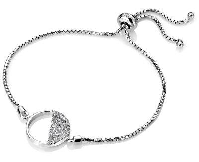 Stříbrný náramek s diamantem Horizon Topaz DL601