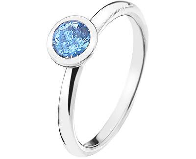 Hot Diamonds Strieborný prsteň Emozioni scintilla Blue Peace ER022