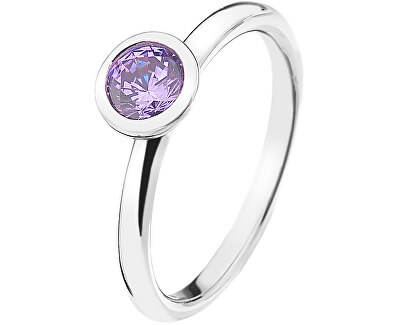 Hot Diamonds Strieborný prsteň Emozioni scintilla Lavender Calmness ER020