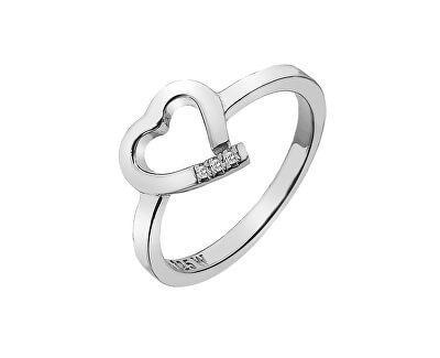 Hot Diamonds Stříbrný prsten Hot Diamonds Love DR194