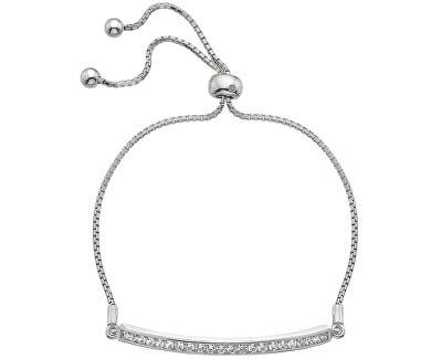 Hot Diamonds Brățară elegantă cu zirconii și diamant Crystal Clear DL515