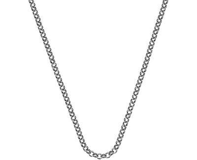 Stříbrný řetízek Emozioni Rhod Plated Belcher 45 CH025