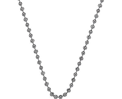 Stříbrný řetízek Emozioni Rhod Plated Bead Chain 45 CH016