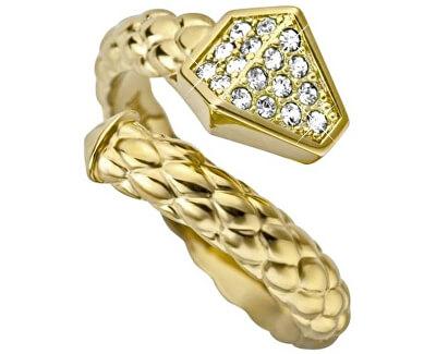 Just Cavalli Luxusní hadí prsten Just Glam JCRG000102