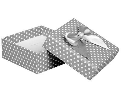 Puntíkatá krabička na soupravu šperků KK-4/A3