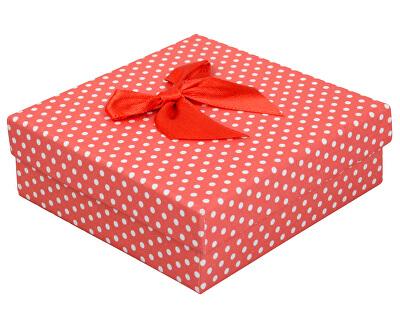 Puntíkatá krabička na soupravu šperků KK-5/A7