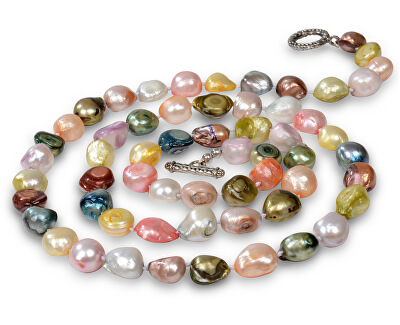 JwL Luxury Pearls Dlouhý náhrdelník z barevných perel JL0064