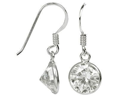JwL Luxury Pearls Cercei din argint cu cristale sclipitoare JL0282