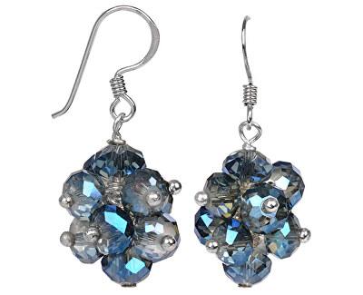 JwL Luxury Pearls Cercei sclipitori cu cristale albastre deschis JL0271