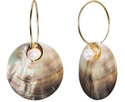 JwL Luxury Pearls Cercei exclusivi 4în1 cu perle veridice JL0458