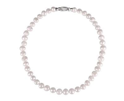 Perlový náhrdelník z barokních perel a zirkony JL0597