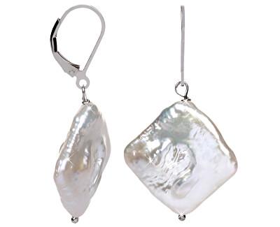 JwL Luxury Pearls Stříbrné náušnice s pravou perlou JL0391