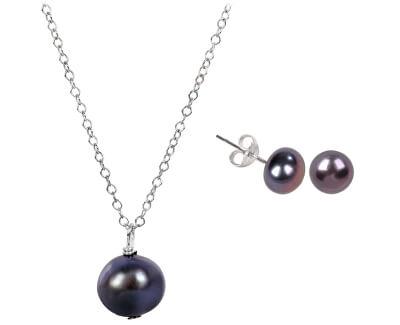 Zvýhodněná perlová souprava šperků Jl0028 a JL0086