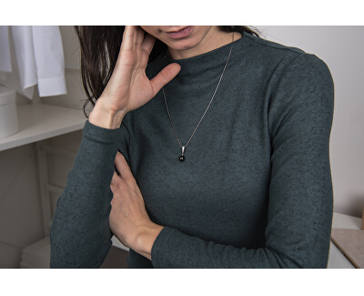 Stříbrný přívěsek s pravou perlou SVLP0164SD2P500