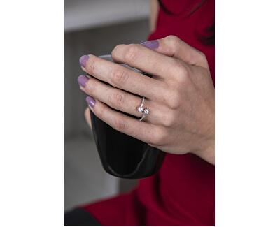 Stříbrný prsten s krystaly SVLR0093XG4BI