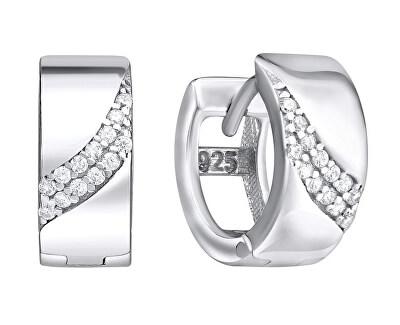 Krásné stříbrné náušnice SVLE0644XH2BI00