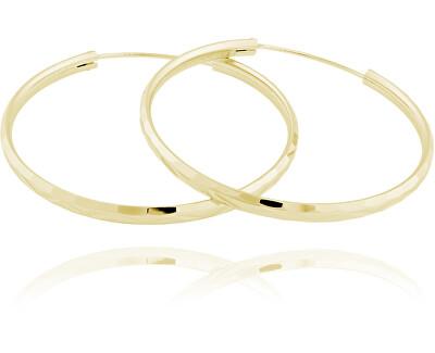 Cercei din argint placat cu aur cercuri SVLE0209XD5GO40