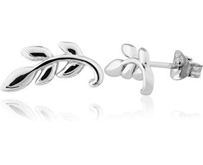 Stříbrné lístečkové náušnice SVLE0500X610000