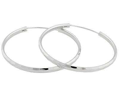 Stříbrné náušnice kruhy SVLE0209XD500