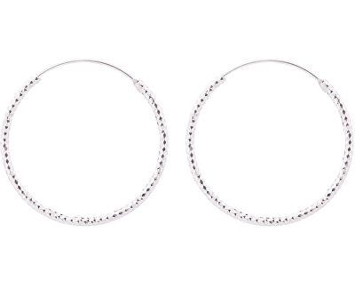Stříbrné náušnice kruhy SVLE0216XD500