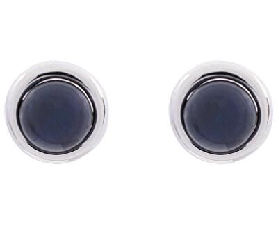 Stříbrné náušnice pecky s pravými perlami SVLE0169SD2P500