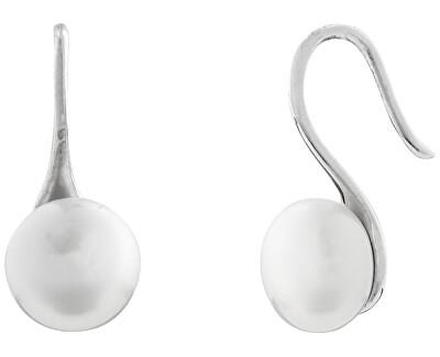 Stříbrné náušnice s pravými perlami SVLE0518XH2P100
