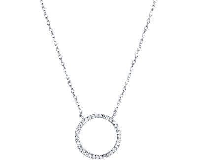 Stříbrný náhrdelník s krystaly SVLN0043XD5BI45