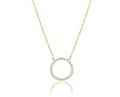 Stříbrný náhrdelník SVLN0043XD5GO45