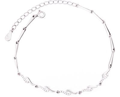 Stříbrný náramek se zirkony SVLB0081XD5BI17