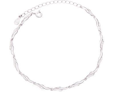 Stříbrný náramek se zirkony SVLB0084XD5BI17