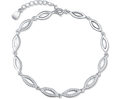 Stříbrný náramek SVLB0129XD5BI17