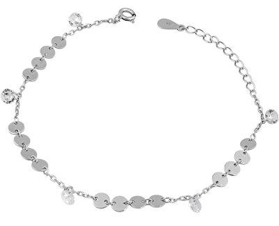 Stříbrný penízkový náramek SVLB0106XE90017