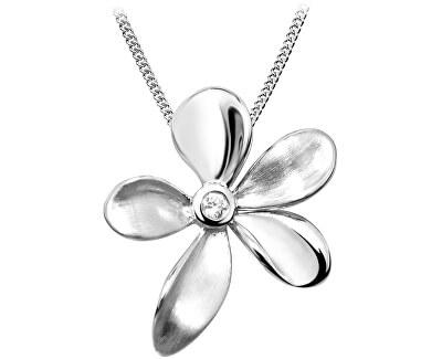 Stříbrný přívěsek Květ SVLP0079SH8BI00