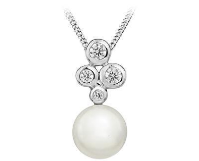 Stříbrný přívěsek s pravou perlou SVLP0151SH8P100