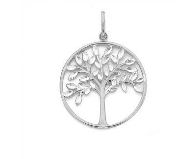 Stříbrný přívěsek se zirkony Strom života SVLP0585XH20000