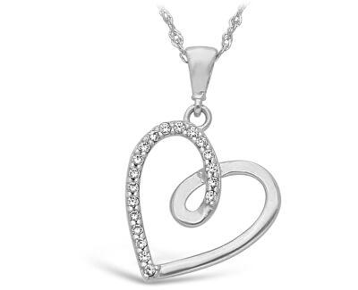 Stříbrný přívěsek Srdce SVLP0588XH2BI00