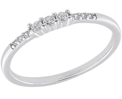 Stříbrný prsten se zirkony SVLR0210XH2BI